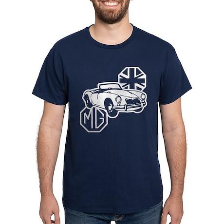 MG MGA Classic British Sports Car Dark T-Shirt