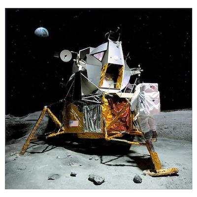 Moon landing, 21 July 1969 Poster