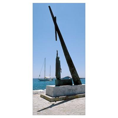 Monument to Pythagoras of Samos Poster