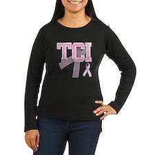 TCI initials, Pink Ribbon, T-Shirt