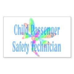 CPST dragonfly Rectangle Sticker