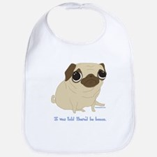 Bacon Pug Bib