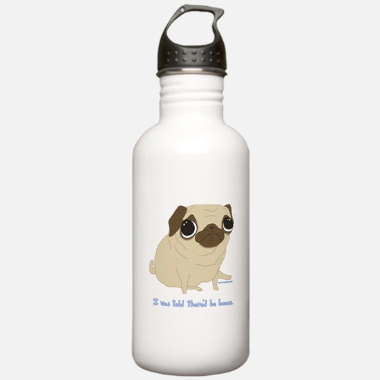 Bacon Pug Water Bottle