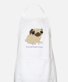 Bacon Pug Apron
