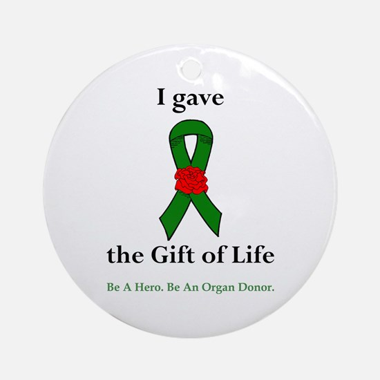 I Donor Ornament (Round)
