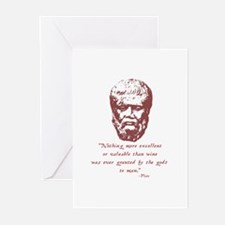 Plato Greeting Cards (Pk of 10)