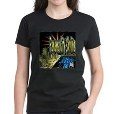 panama city skyline dynamic art Tee