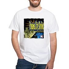 panama city skyline dynamic art Shirt