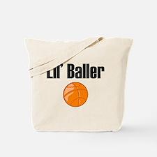 Lil' Baller Tote Bag