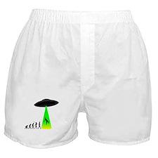 Alien Abduction Boxer Shorts