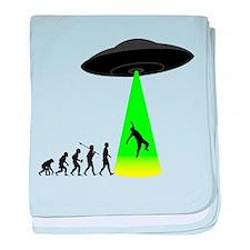 Alien Abduction baby blanket