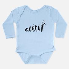 Cat Juggling Long Sleeve Infant Bodysuit