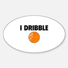 I Dribble Decal