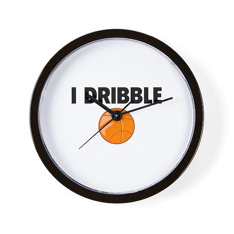 I Dribble Wall Clock