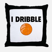 I Dribble Throw Pillow
