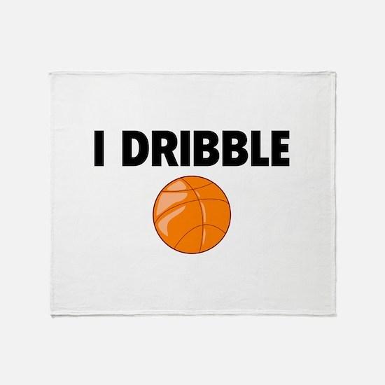 I Dribble Throw Blanket