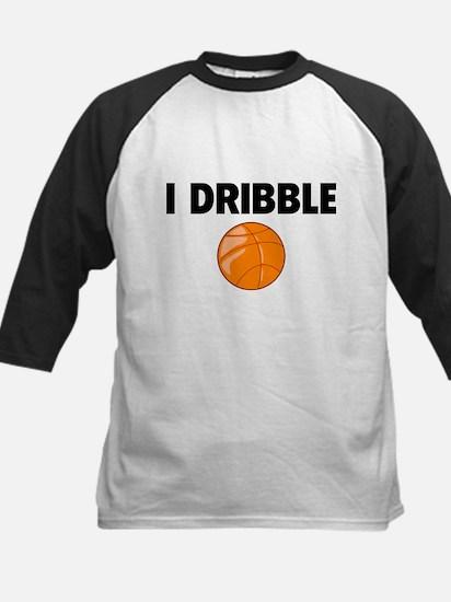 I Dribble Kids Baseball Jersey