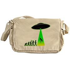 Alien Abduction Messenger Bag