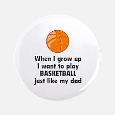 """Play Basketball 3.5"""" Button"""