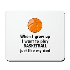 Play Basketball Mousepad