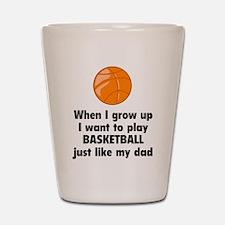 Play Basketball Shot Glass