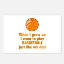 Play Basketball Postcards (Package of 8)