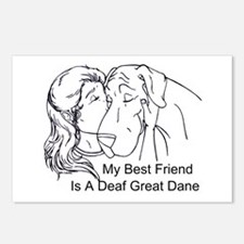 N DeafBF Hug Postcards (Package of 8)