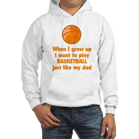 Play Basketball Hooded Sweatshirt