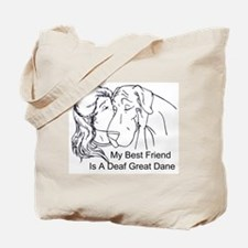 N DeafBF Hug Tote Bag