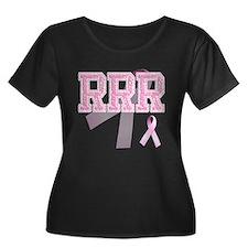 RRR initials, Pink Ribbon, T