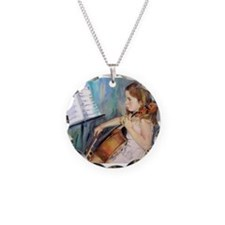 Little Girl Cellist Necklace
