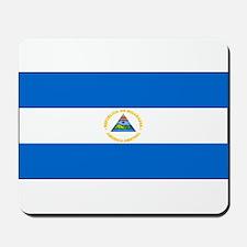 Nicaragua Nicaraguan Blank Fl Mousepad