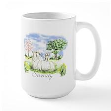 Goats- Angora Serenity Mug