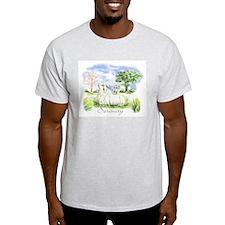 Goats- Angora Serenity Ash Grey T-Shirt
