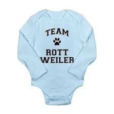 Team Rottweiler Long Sleeve Infant Bodysuit