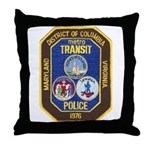 Metro Transit Police Throw Pillow