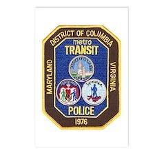 Metro Transit Police Postcards (Package of 8)