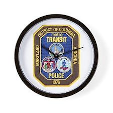Metro Transit Police Wall Clock