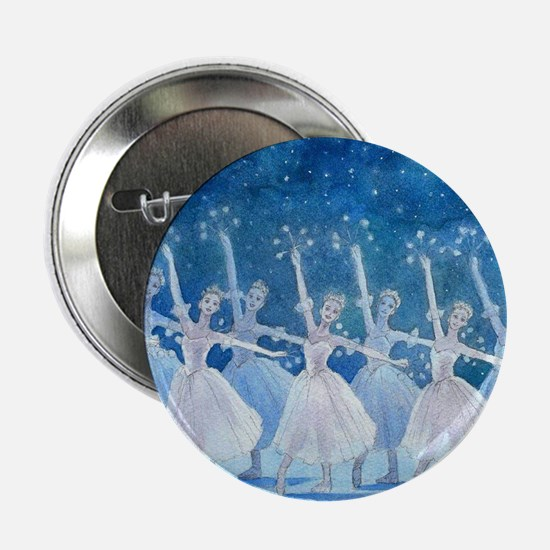 Dance of the Snowflakes Round Button
