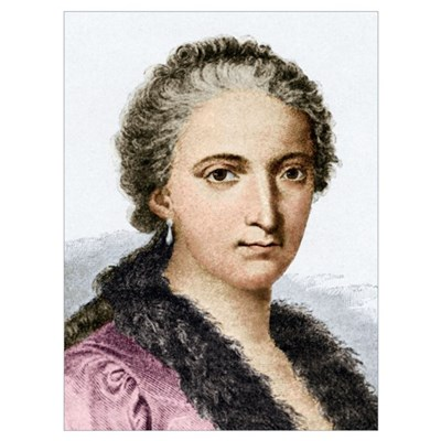 Maria Agnesi, Italian mathematician Canvas Art