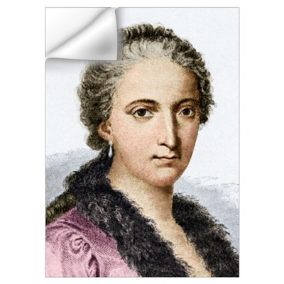 Maria Agnesi, Italian mathematician Wall Decal