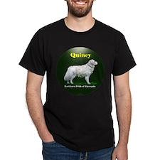 Quincy - pride of Algonquin Black T-Shirt