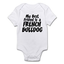 French Bulldog FRIEND Infant Bodysuit