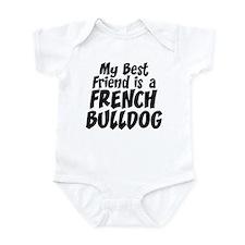 French Bulldog FRIEND Onesie