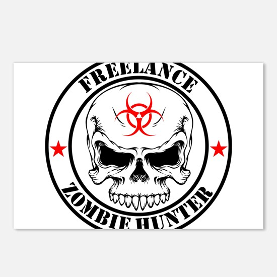 Freelance Zombie Hunter Postcards (Package of 8)