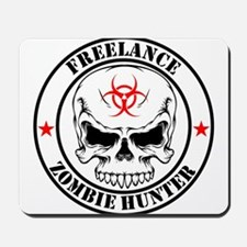 Freelance Zombie Hunter Mousepad