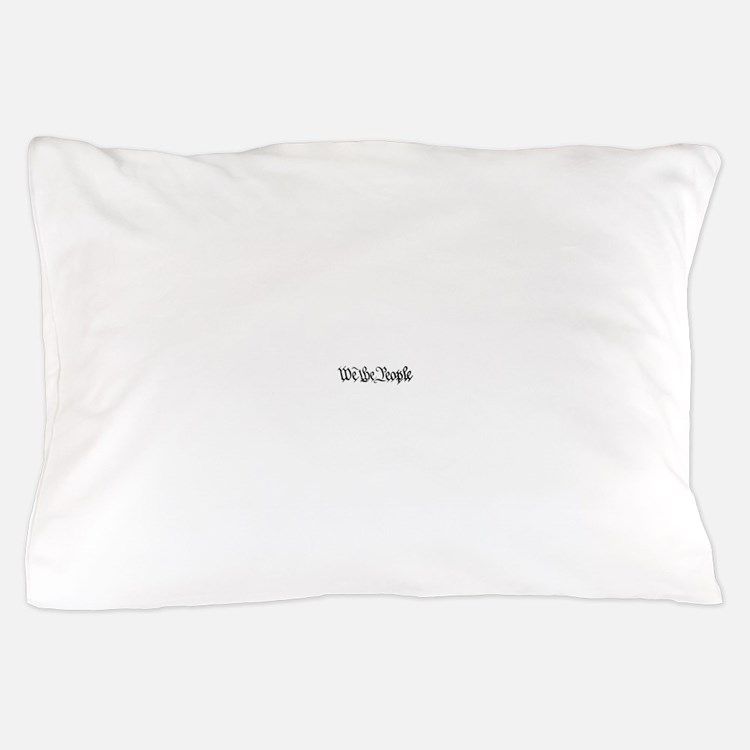 WE THE PEOPLE XVII TRANS BACK.psd Pillow Case