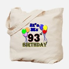 It's My 93rd Birthday Tote Bag