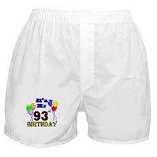 It's My 93rd Birthday Boxer Shorts