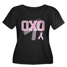 OXO initials, Pink Ribbon, T